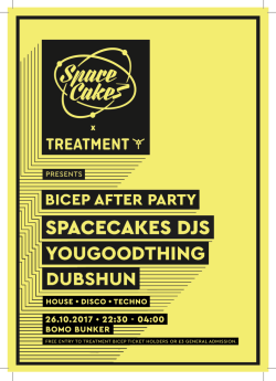 Bicep Afterparty